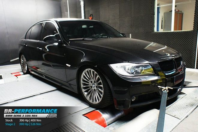 BMW Serie 3 E9x 335i - N54 stage 2 - BR-Performance